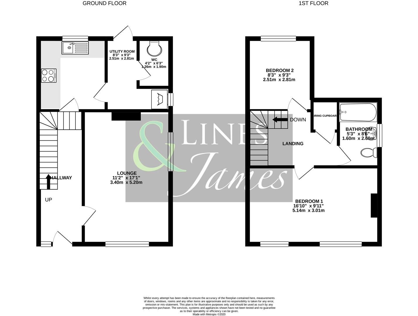 Floorplan for Gorings Mead, Horsham